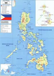 Philippines Map World by Philippines