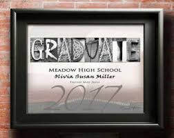 gifts for a highschool graduate hs graduate etsy