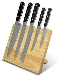 modern kitchen knives cooking magnetic knife block modern knife storage by