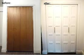 Solid Bifold Closet Doors Alternatives To Closet Door Size Of Solid Doors