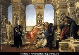 the most famous paintings sandro botticelli alessandro filipepi most famous paintings the