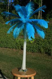 Wedding Feathers Centerpieces by Turquoise Ostrich Feathers Centerpieces For Wedding