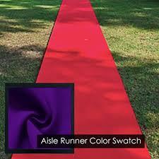 Purple Aisle Runner Aisle Runners For Weddings For Outdoor Wedding Amazon Com