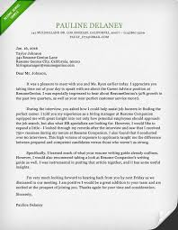 interview thank you letter email or hard copy cover letter sample
