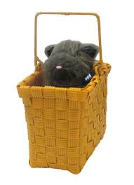 dog costume wizard of oz amazon com rubies wizard of oz toto plush in the basket 75th