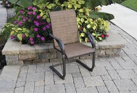 Madison Outdoor Furniture by Backyard Creations Madison Spring Action Patio Chair At Menards