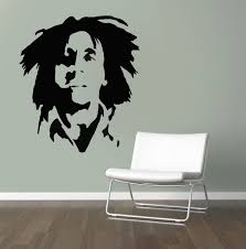 bob marley stencil reusable stencil for home decor create zoom
