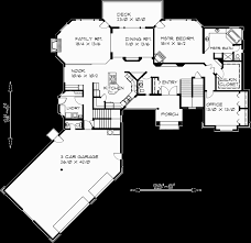 luxury plans country luxury house plan master on the bonus 3 car garage