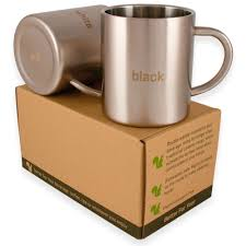 amazon com coffee mugs bpa free stainless steel with handles