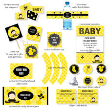 bumble bee baby shower theme the cutest yellow baby shower ideas you must see