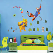 winnie the pooh wall art australia wall murals you ll love removable winnie the pooh advanture wall stickers nursery boy bedroom decor china mainland