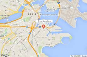 Back Bay Boston Map by New England Boat Show Official Site Boston Ma