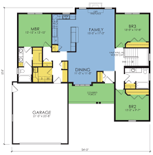 nunn creek floor plan 3 beds 2 baths 1689 sq ft wausau homes