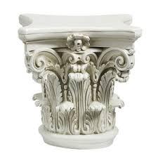 Greek Column Pedestal Corinthian Column Pedestal Wayfair