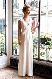 robes de mariã e toulouse l amusée robe de mariée longue ligne blanche l insouciante robe