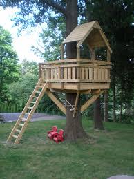 wooden tree house kits captivating kids tree house design ideas