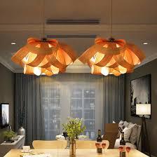 Wood Veneer Pendant Light Aliexpress Buy Wood Veneer Hanging L Southeastern Pendant