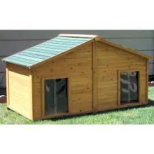 house plan shop large cedar dog house at lowes com large dog house