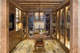 glass basement doors country style wine cellar with glass doors country basement