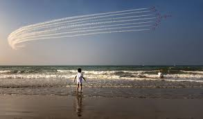 plane formation image oman national geographic your shot photo