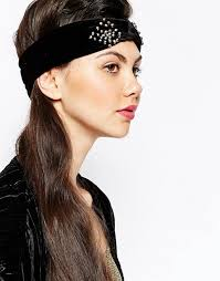 velvet headband monki monki embellished velvet headband