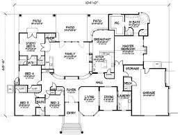 5 bedroom home plans 5 bedroom home plans 100 5 bedroom one story house plans best 25