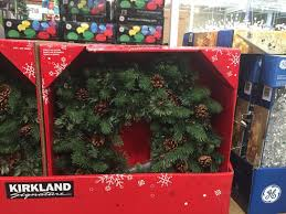 kirkland signature 32 battery operated wreath with led lights