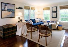 nautical living room family room traditional with blue boats brown