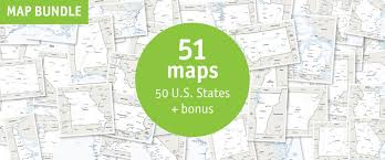map of us states political buy 51 vector maps u s states maps lowest price 75