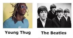 The Beatles Meme - young thug vs the beatles
