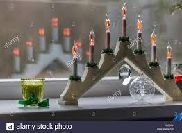 candles christmas window stock photos u0026 candles christmas window