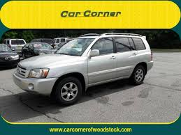 18546 2007 toyota highlander car corner used cars for sale