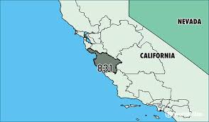 us area codes 408 where is area code 831 map of area code 831 salinas ca area code