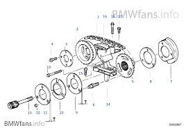 timing gear timing chain top bmw 5 u0027 e39 523i m52 europe