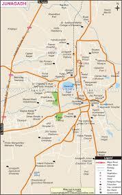 Gujarat Blank Map by Junagadh City Map City Map Of Junagadh