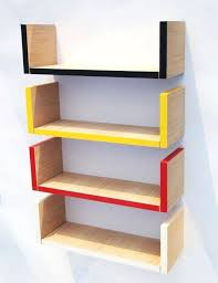 wall mounted book shelves childrens bookcase medium size of with