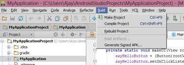 how to apk on android how do i export a project in the android studio stack overflow