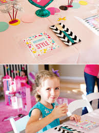 colorful u0026 modern barbie birthday party ideas hostess with the