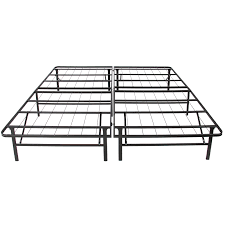 Metal Bed Frame No Boxspring Needed Best Choice Products Platform Metal Bed Frame Foldable No Box