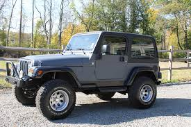 jeep gray 2005 jeep wrangler rocky mountain edition