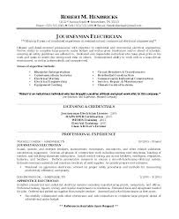 journeyman electrician resume exles sle resume for electrician sle resume for a journeyman