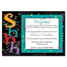 surprise birthday invitations templates free u2013 diabetesmang info