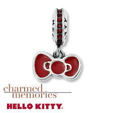 kay jewelers charmed memories kay charmed memories hello kitty bow charm sterling silver