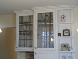 Kitchen Cabinet Doors With Glass Stained Glass Kitchen Cabinet Doors Home Design And Decorating