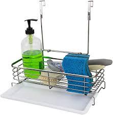 kitchen sink cabinet sponge holder the cabinet storage sponge organizer the cabinet kitchen storage basket sus304 stainless steel the cabinet kitchen storage organizer basket hang