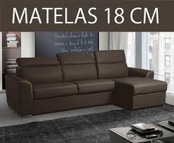promo canapé d angle canape d angle reversible ouverture rapido imola matelas 18cm