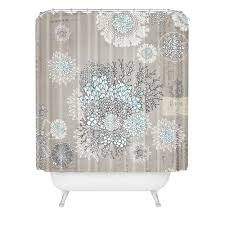 Aqua Blue Shower Curtains Blue Shower Curtain Iveta Abolina