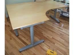 Galant Conference Table Ikea Table Galant Kidney Shaped Desk L Corner Peanut Ikea Galant