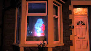 christmas window projection dvd my santa in my window youtube