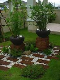awesome river rock garden decorations world inside pictures